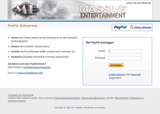 paypal weltweit verfügbar